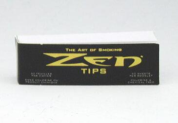 ZEN ゼン 手巻きタバコ用 ローリングチップ フィルター 12mm×52mm 50枚入 手巻きタバコ 無香料