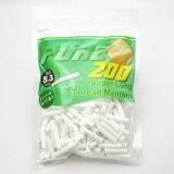 【PURE】ピュア 手巻きタバコ スーパースリム スレッド メンソール 手巻きタバコ用 フィルター 200個入 直径5.3mm 長さ25mm