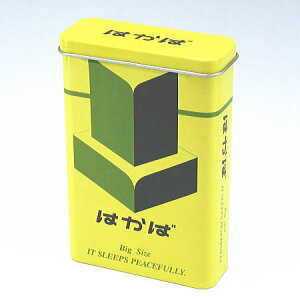 煙草パロディー柄【100ミリ20本用】シガレットケース キャンディー缶 はかば デザイン柄 ブ...