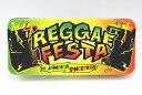 【缶ペンケース】レゲエフェスタ REGGAE FESTA デザイン柄 ブリキ缶 カンペンケース