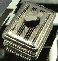パールドイツ製マッチケースエンジンタン縞柄