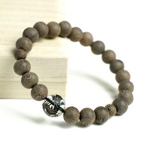 () 條紋鐵刀木 (shimatagayasann) 和藍色龍珠手鏈凡兒 9 毫米 7 毫米水晶和木木材木珠串手鐲朝青龍木念珠手鐲