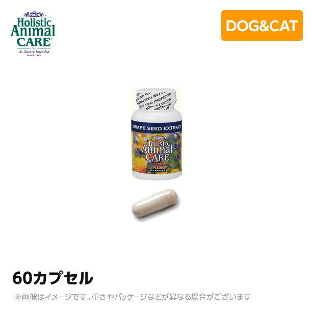 アズミラ グレープシード・エクストラクト 60カプセル 【送料無料】 ハーバル サプリ サプリメント(ペット用 犬猫用品)