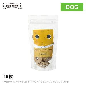 ドットわん クッキー 納豆 18枚 おやつ 犬用おやつ 犬 DOG【人気】(犬用品 ドットワン どっとわん どっとワン ドットわん おやつ ご褒美)