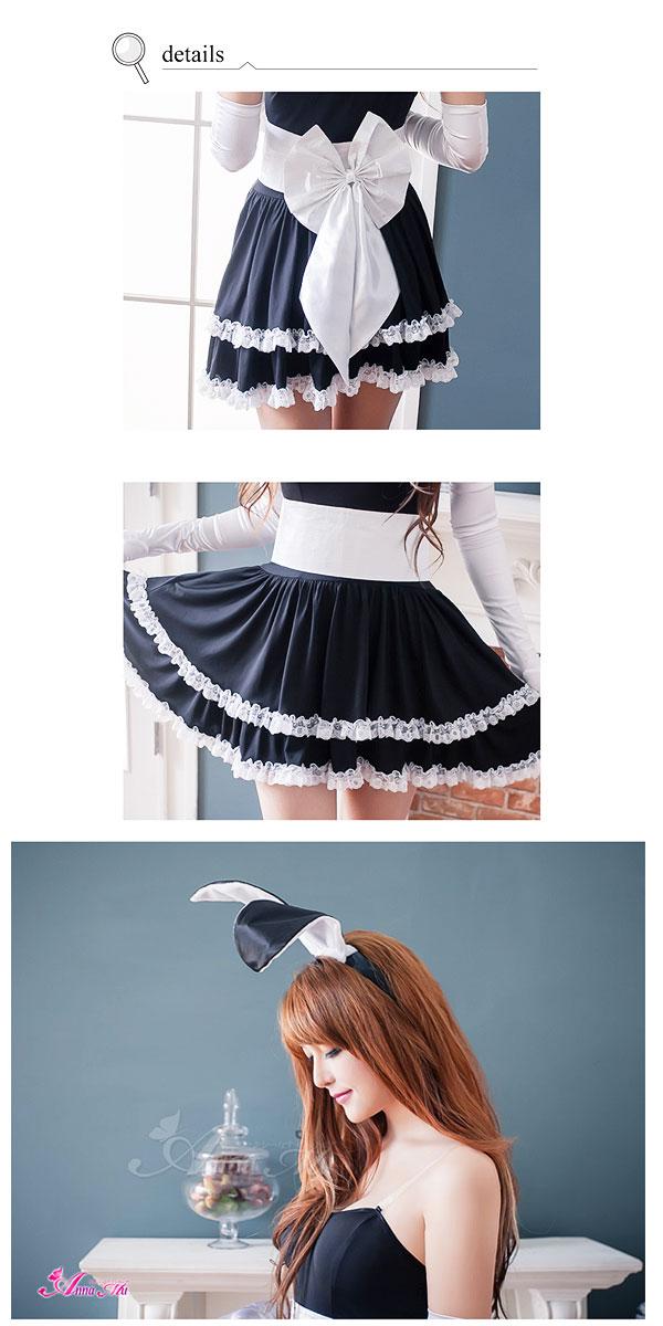ウサギバニーガールハロウィンコスプレコスチューム衣装女性