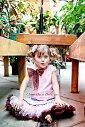 お洒落なペティコートスカート♪【ピンク】【ブラウン】【茶】【誕生日】【衣装】【記念日】