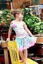 お洒落なペティコートスカート♪【ピンク】【ブルー】【誕生日】【衣装】【記念日】