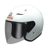 【NEWモデル】くまモンジェットヘルメットパールホワイトくまモンバージョン