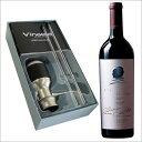 【送料無料】オーパス・ワン'12&電動ワインディスペンサーVinaera(ビナエラ)[赤ワイン][ワインセット][赤:フルボディ][ワイングッズ]