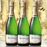 【送料無料】デュマンジャン・プルミエ・クリュ・グラン・レゼルヴ・ブリュット 3本セット[ワインセット][白:辛口:発泡][スパークリングワイン]【7780860】