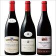 【送料無料】コート・ド・ニュイ村名赤ワイン飲み比べ3本セット 【7785736】