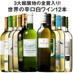 【 送料無料 】【49%OFF】三大銘醸地の金賞入り!世界の辛口白ワイン12本セット 【7792962】 白ワイン ワインセット 辛口