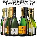 【送料無料】 56%OFF 瓶内二次発酵製法カバを含む世界銘醸国の泡12本セット 第37弾 スパークリングワイン 辛口 ワインセット 【7793819】