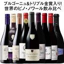 【送料無料】42%OFF ブルゴーニュ&トリプル金賞入り!世界のピノ・ノワール飲み比べ9本セット 第10弾【7793911】 赤ワイン ワインセット フルボディ・・・