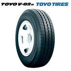 サマータイヤ TOYO TIRES V-02e 175R14 6PR 【偶数単位でのみ販売商品】 ビジネスバン用