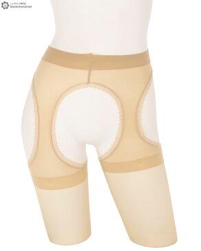 Elizabeth ナチュラルサスペンダーストッキング (M-Lサイズ)(ブラック・ティール)(つま先補強)(日本製 Made in japan) シアータイツ ガーターベルト付きストッキング レディース stockings tights ladies