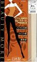 MORE ヒップアップ設計 ストッキング (キュッとあがった理想のヒップへ・つま先補強・伝線しにくい)(日本製・Made in Japan) シアータイツ パンスト パンティストッキング レディース stocking tights ladies