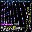 クリスマス イルミネーション ナイアガラ LED 560球 光が流れる 幅1.8Mx高さ2.75M スピード8段階調整 コントローラー付 ピンク×ホワイト /_76068 【P08Apr16】