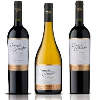クレマスキシングルヴィンヤード3本セットカベルネメルローシャルドネチリワイン