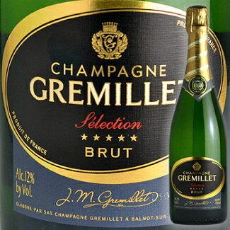 シャンパンJMGグルミエ・ブリュット・セレクションフランスワイン【スパークリング泡発泡】wineChampagneシャンペン
