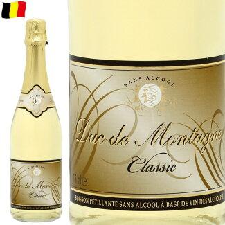 デュク・ドゥ・モンターニュ750mlノンアルコールワインスパークリング750mlベルギーワイン