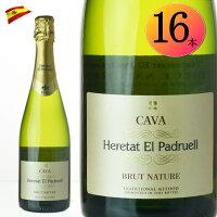 エレタット・エル・パドルエルブリュットナチューレ16本スパークリングワイン750ml辛口スペイン【スパークリング泡発泡】