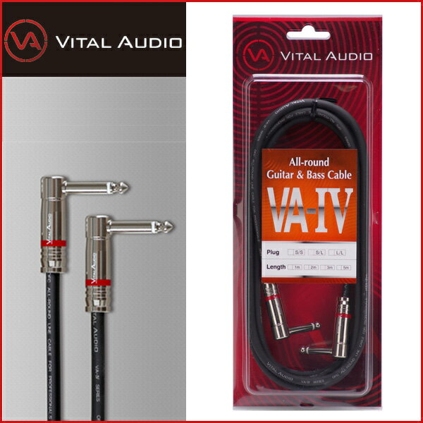 ウクレレ用アクセサリー・パーツ, その他 VITAL AUDIO VAIV-3.0m LL VA4 -All-round Guitar Bass Cable- 32P L2P LRCPP2