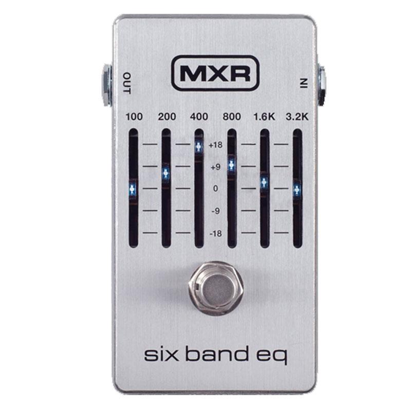 ギター用アクセサリー・パーツ, エフェクター  6 MXRM109S 6 Band Graphic EQ M-109S RCP