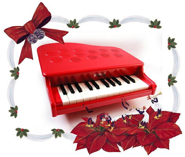 【購入特典付♪】KAWAI/カワイ P-25/RD ローズレッド 赤 1107 25鍵盤 トイピアノ/ミニピアノ 河合楽器製作所【楽ギフ_包装選択】【楽ギフ_のし宛書】【RCP】【P2】