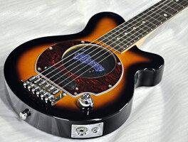 【送料無料】Pignose/ピグノーズPGG-200/BSブラウンサンバースト完璧10点セット!アンプ内蔵ミニエレキギター
