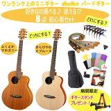【期間限定、ギタースタンドプレゼント!】【選べて楽しい♪8点セット】アコースティックギター初心者セット 8点セット ミニギター バードギター aNueNue/アヌエヌエ aNN-M1 aNN-M2 BirdGuitarSet【RCP】