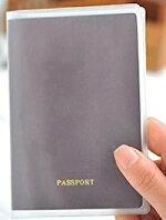 DCMR文具トラベルパスポート透明モザイククリアケースシンプルベーシックタイプ