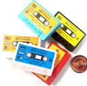 DCMR カセット テープ 型 MP3 プレーヤー 再生 Micro SD カード 使用 音楽 入れるだけ 簡単 再生 操作 シンプル 機能 お楽しみカラー