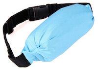 DCMR ウエスト ポーチ ベルト ポーチ ランニング 用 伸縮 フリー サイズ ポーチ ジョギング の 際 の 携帯電話 カメラ 財布 の 収納 ブルー
