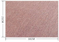 DCMR キッチン 自在 繊維素材 タイプ カット テーブル イス 傷 防止 【ブラウン1枚】肉厚 シール を 貼り付ける 簡単 着用 傷つかない