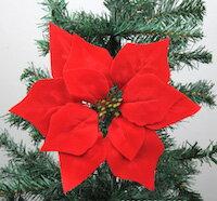 DCMR メリー クリスマス 20cm 赤い 葉っぱ 彩り ツリー 飾り 幸せ パレード オーナメント 飾り 付け 1個 クラシック レトロ スタイル ダメージ 加工済