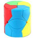 DCMR トイ ルービック キューブ 円柱 特殊 変形 3列 ウェーブ ポップカラー 1点