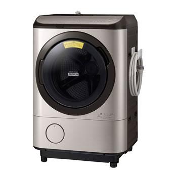 日立【代引・日時指定不可】洗濯12kg 乾燥7kg ドラム式洗濯乾燥機 左開き BD-NX120FL-N★【ビッグドラム】