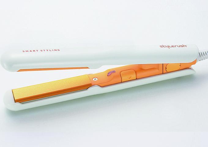 【特別 】スタイルラッシュミニ ポータブル セラミック ヘアアイロン SR-103AN -O (オレンジ)