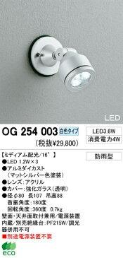 オーデリック 屋外LEDスポットライト OG254003