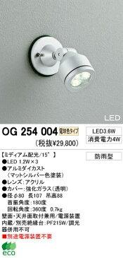 オーデリック 屋外LEDスポットライト OG254004