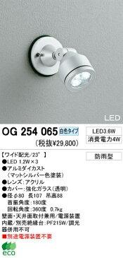 オーデリック 屋外LEDスポットライト OG254065