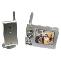 無線カメラシリーズキャロットシステムズ デジタル2.4GHz帯無線カメラ&モニターAT-2510MCS[AT2...