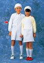 学童給食衣(ホワイト)ダブルSKV3595号