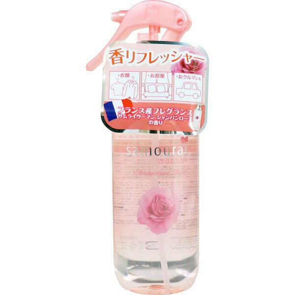 サムライウーマンシャンパンローズファブリックミスト / 300ml / サムライウーマンシャンパンローズの香り
