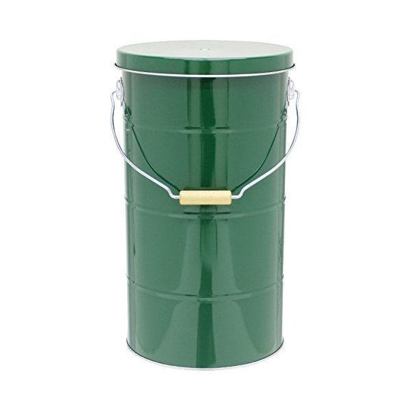 【全品P5〜10倍】渡辺金属オバケツライスストッカー10kg緑RS10GCODE:312869