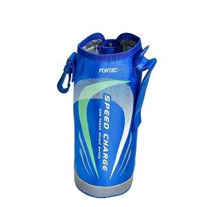 水筒 カバー ボトルケース ポーチ フォルテック ステンレスボトル 1L ブルー 2015デザイン 和平フレイズ(WAHEI FREIZ)