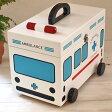 キュアメイト 救急箱(救急車) 【木製 おしゃれ かわいい】【あす楽対応】