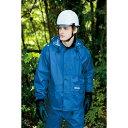 作業服 作業着 レインウェア レインスーツ 防水 透湿 カッパ 高視認 メンズ 男性 アイトス AITOZ IIS-58701 ブルー オレンジ シルバー ブラック Sサイズ Mサイズ Lサイズ LLサイズ 3Lサイズ 4Lサイズ 5Lサイズ 6Lサイズ・・・