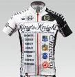 【VALETTE/バレット】King's Knight White(キングスナイト ホワイト) 半袖【サイクルジャージ/サイクルウェア/自転車/レプリカ/サイクル/ロードバイク/ウェア/ユニフォーム/ランニングウェア/フィットネスウェア】